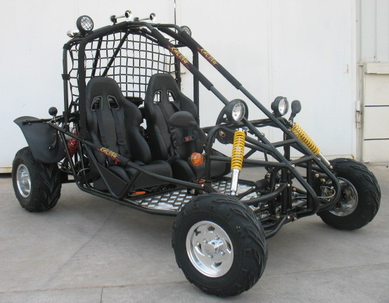 250cc GK Kandi Rocketa Shaft Drive Offroad Dune Buggy Black