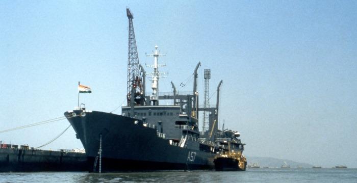 INS Shakti - A57 - Deepak-class Fleet Tanker - Indian Navy - 01 - TN