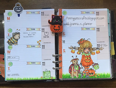 planner-stamping-halloweeen-trick or treat