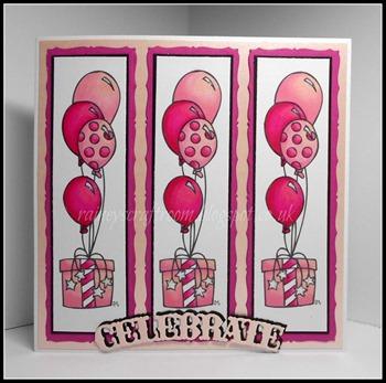 Lorraine C. - pretty in pink