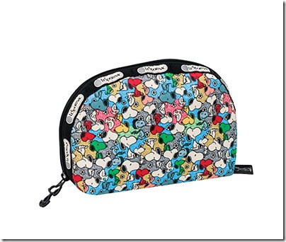 Peanuts X LeSportsac 8170 Medium Dome Cosmetic 02