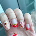 Quick CNY Nail Art in the Office