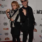 OIC - ENTSIMAGES.COM - Rickie Lee Jones and Elliot Grove at  The Other Side of Desire Premier at the 23rd Raindance Festival London UK 3rd  October 2015 Photo Mobis Photos/OIC 0203 174 1069