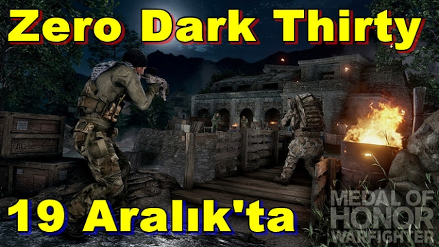 MoH: Warfighter Zero Dark Thirty Geliyor!