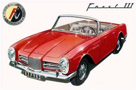 Facel Vega 1963 Facel III cabriolet