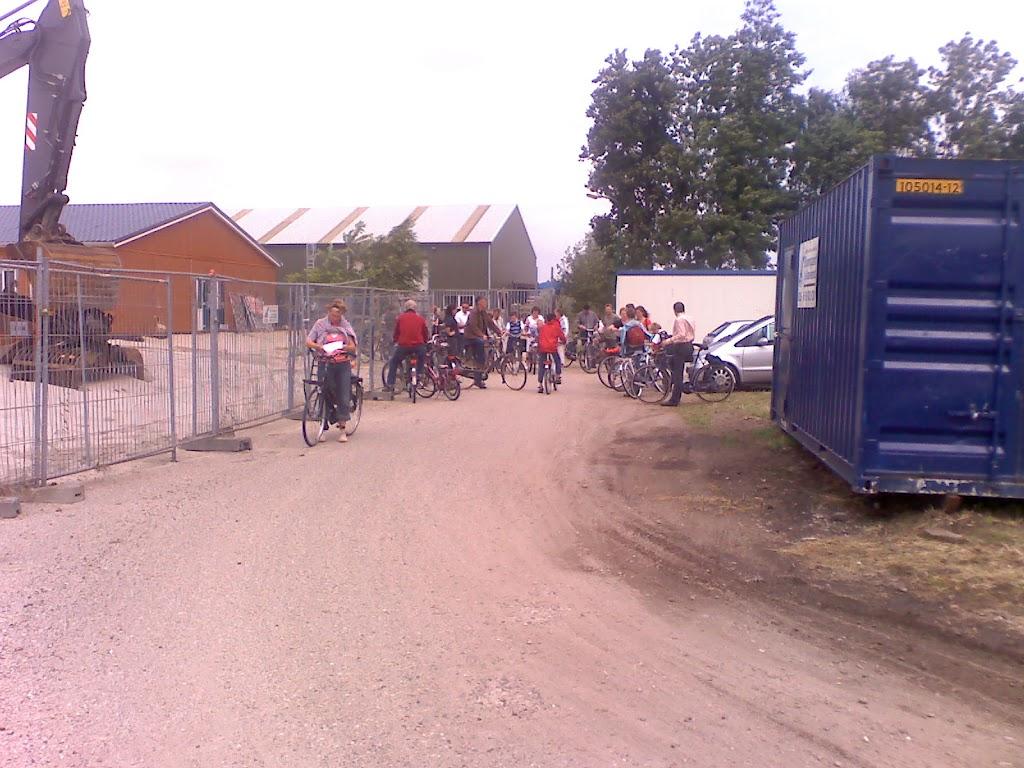 Start fietstocht