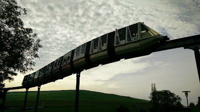 Die ehemalige Panoramabahn im Magdeburger Elbauenpark