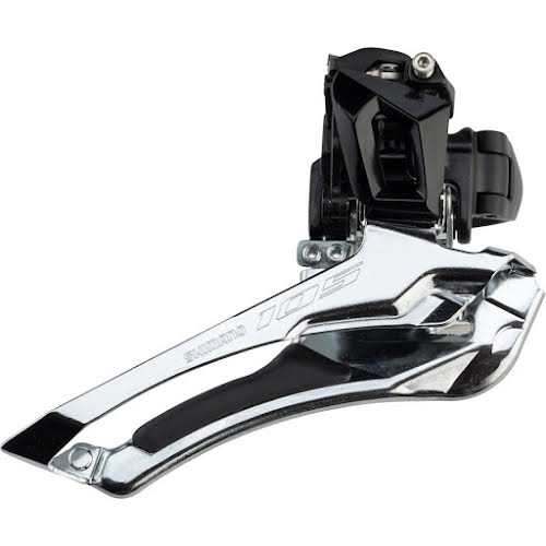 Shimano 105 FD-R7000-L 31.8 Clamp Band Down-Swing Front Derailleur