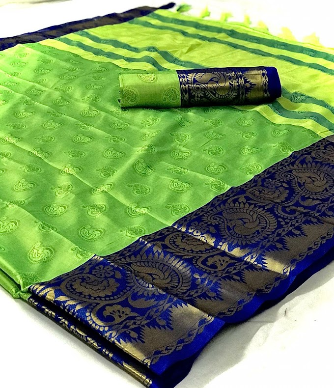 Presenting new designer weaving silk saree