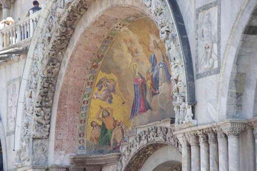 Basilique Saint-Marc (détail).