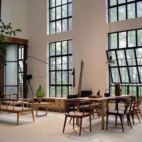 homestyling inspiration: Industriella järnfönster