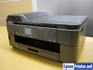 How to reset Epson PX-1600F printer