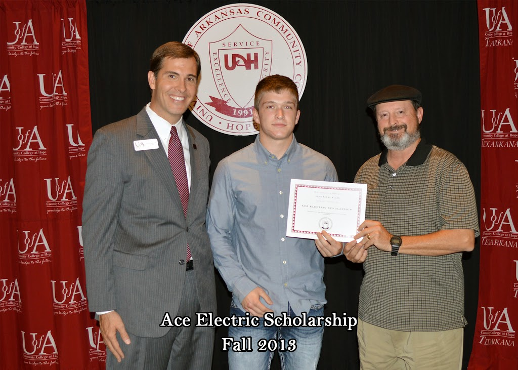 Scholarship Ceremony Fall 2013 - Ace%2BElectric%2Bscholarship.jpg
