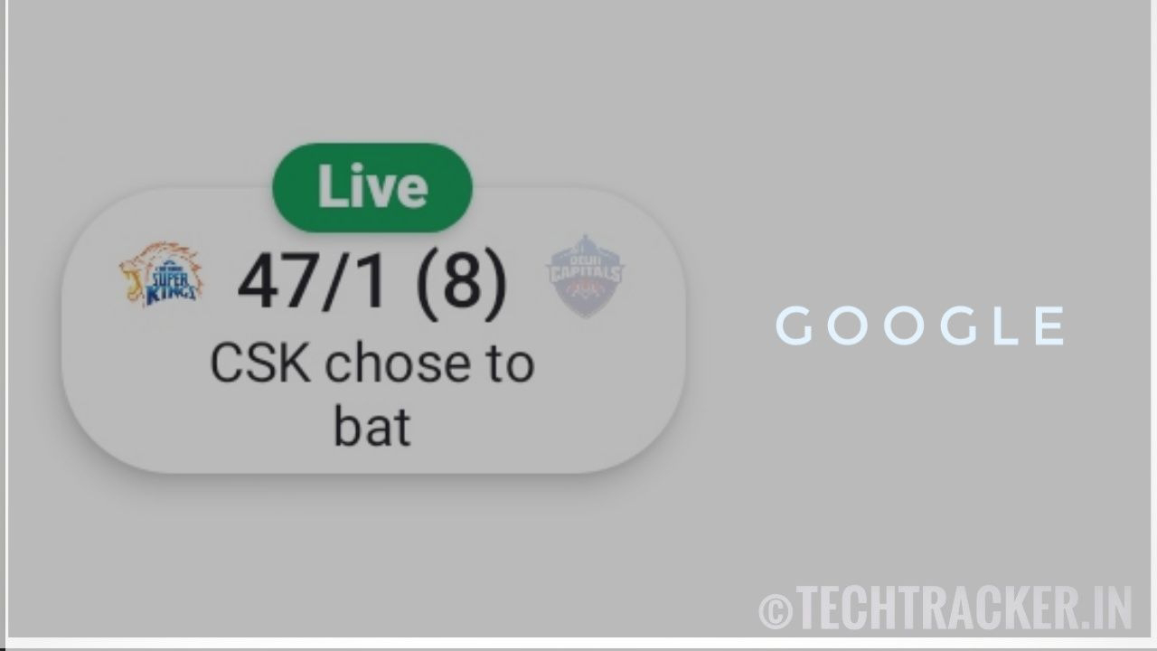 How to pin live IPL or sports scoreboard in android !