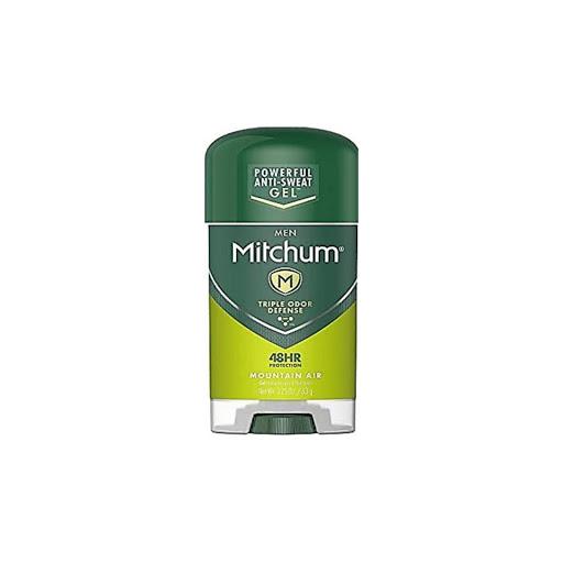 desodorante gel mitchum men mountain air