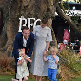 OIC - ENTSIMAGES.COM - Elize du Toit and Rafe Spall with children Rex Spall and Lena Spall at the UK premiere of THE BFG  in London  17th July 2016 Photo Mobis Photos/OIC 0203 174 1069