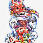 pool ball - tattoo designs