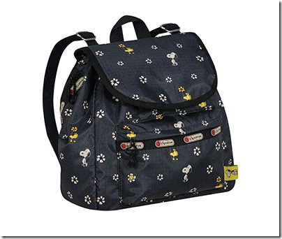 Peanuts X LeSportsac 9808 Small Edie Backpack 04