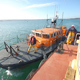 The ALB comes alongside the tug - Training exercise, 19 February 2012