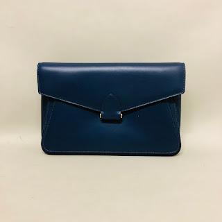 Derek Lam Navy Clutch Bag