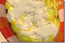 Mezzelune di rucola e crema di grana