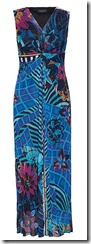 James Lakeland blue print maxi dress