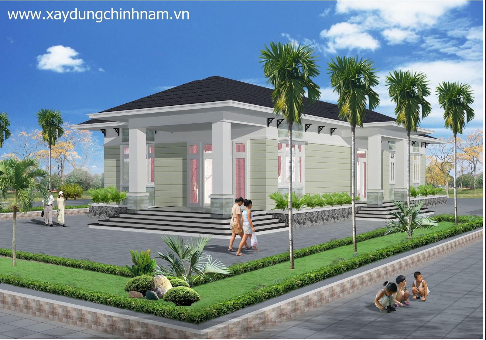 Thiết kế nhà chị Thuý tại Biên Hoà - Đồng Nai