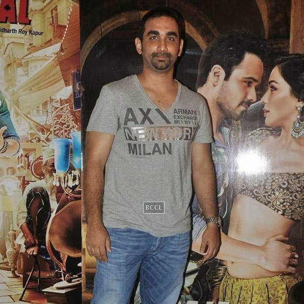 Kunal Deshmukh poses for the lens during the press meet of Bollywood movie Raja Natwarlal, held at UTV Office on July 24, 2014.(Pic: Viral Bhayani)
