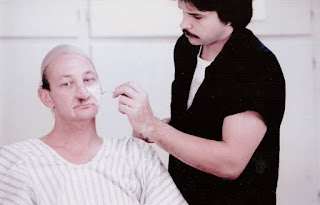 Early Krueger make-up tests applied by David Miller.
