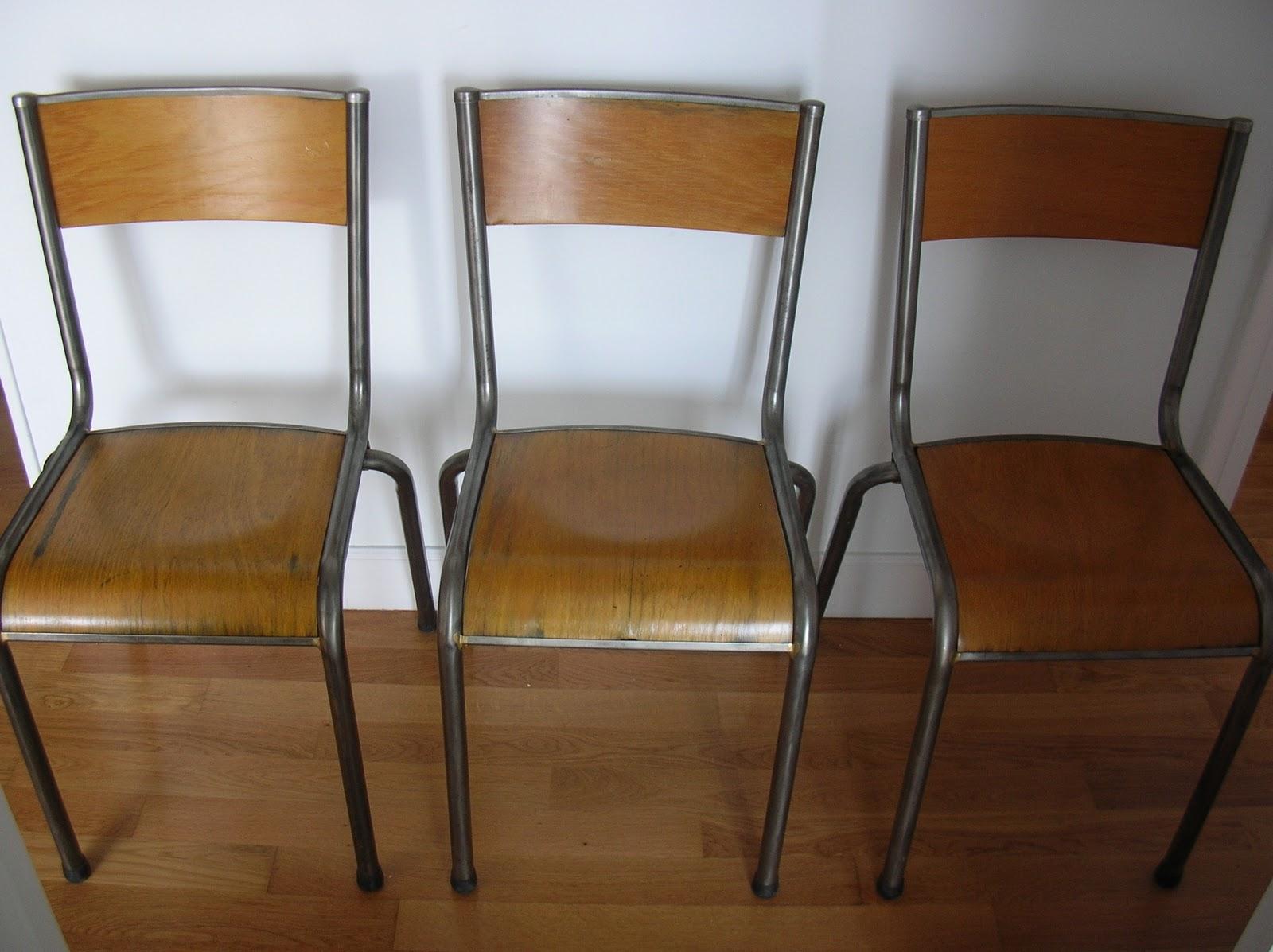 Sillas restauradas de madera latest broca sillas - Sillas restauradas ...