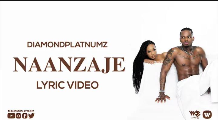 Video lrycs: Diamond platinumz - Naanzaje    Mp4 Download