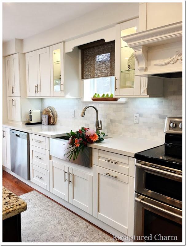 kitchen makeover coffee corner 1