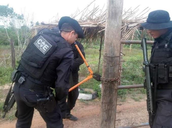 Segup executa a reintegração de sete fazendas no nordeste e sudeste do Pará