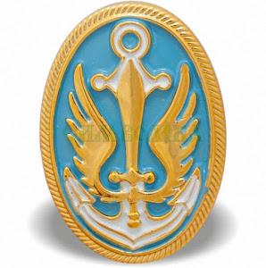 Кокарда Морська піхота (С.З.) пластмаса