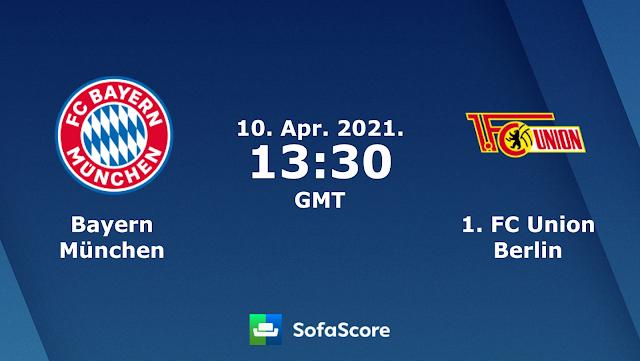 Watch Live Stream Match: Bayern Munchen vs Union Berlin