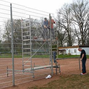 Jugendabteilung: Projekt Hartplatz