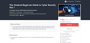The Absolute Beginners Guide to Cyber Security Part 1 | 100% Off