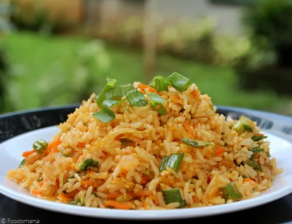 Schezwan Fried Rice Recipe | Spicy Chinese Sichuan Rice