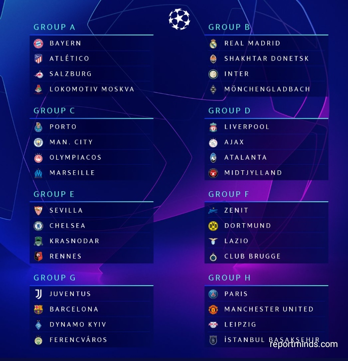 The Best Uefa Champions League Fixtures Today
