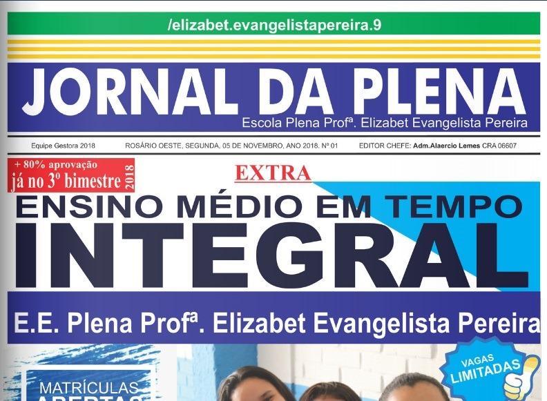 capa jornal elizabet ev