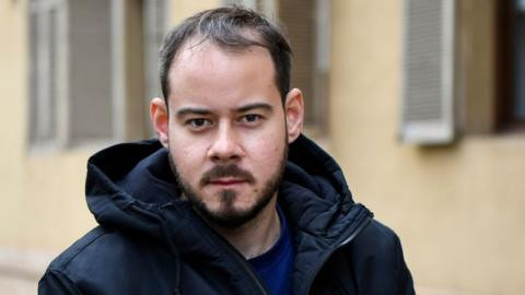 Spanish rapper Pablo Hasel locks himself inside university building to avoid jail over tweets and lyrics that attacked the monarchy and police