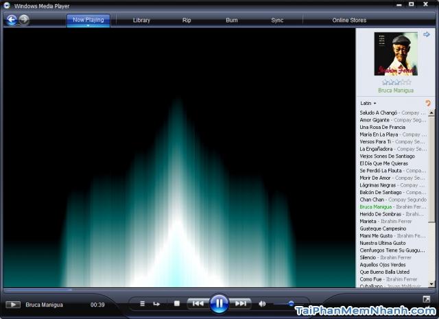 Giới thiệu phần mềm giải trí Windows Media Player