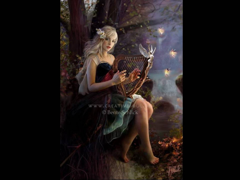 Harp Song Of Spring, Magic Beauties 3
