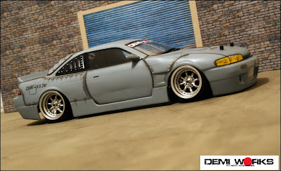 Body kit accessories for s14 for 180sx window louvers
