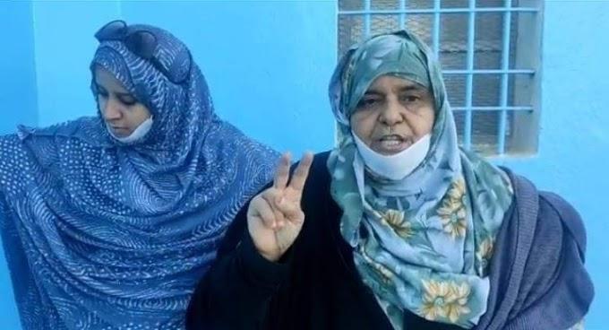 🔴 ÚLTIMA HORA | La policía marroquí detiene a la madre de Mohamed Lamin Haddi y a sus dos hermanos mientras protestaban frente a la cárcel donde se encuentra preso.