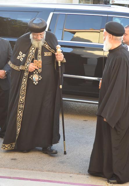 His Holiness Pope Tawadros II visit to St. Mark LA - DSC_0120.JPG