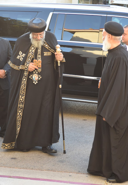 His Holiness Pope Tawadros II visit to St. Mark LA - DSC_0120.JPG