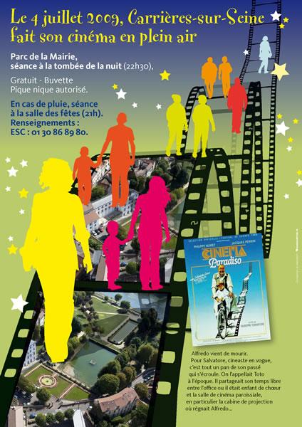 mairie Carrières-sur-Seine - affiche cinéma 1 -SansException