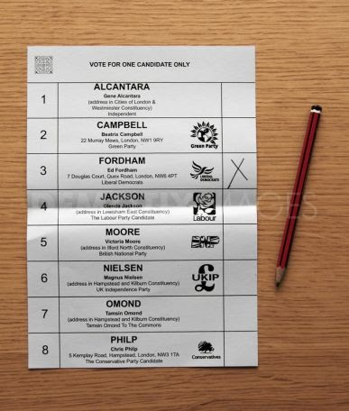 The bread or the lily: The Alternative Vote #2: How does ...