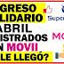 MOVii ha publicado la fecha de pago de abril de Ingreso Solidario